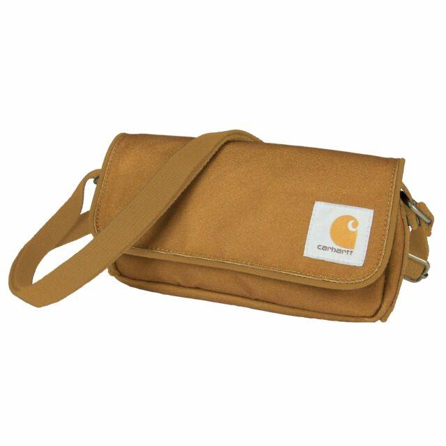 Carhartt Legacy Women S Essentials Crossbody Bag And Waist Pouch Brown