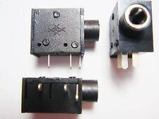 5 x Buchse Lautsprecher Kopfhöhrer Stereo 3,5mm Netzteil #17-7#10U01#