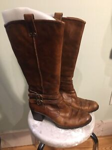 Details about Womens Born Lewisa Boots Brown 9 5 VGUC