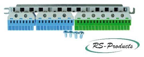 N//PE Quick-Steckklemmenset Striebel /& John ZK225 N//PE f.V-Feld N=14,10p.PE=22p