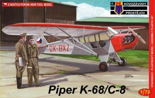 1//72 Post War Liaison Aircraft Czech Piper K-68//C-8 KP