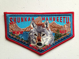 SHUNKAH-MAHNEETU-OA-LODGE-407-SCOUT-SERVICE-PATCH-FLAP-NOAC-2006-DELEGATE