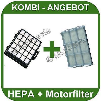 SET HEPA FILTER + Motorfilter Für Bosch Siemens