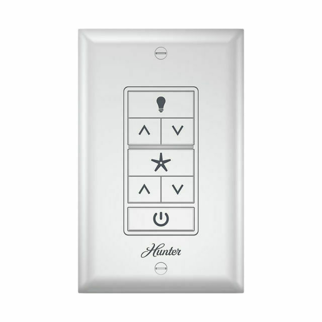 Hunter Universal Ceiling Fan Light, Ceiling Fans With Lights Wall Control