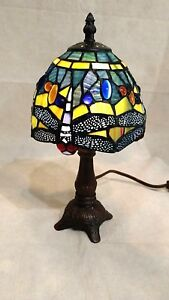 Dragonfly-Stained-Glass-Accent-Lamp