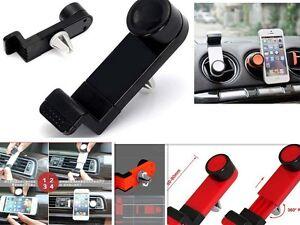 unterst tzung mobile raster luft klimaanlage auto universal iphone 4 4s 5 5s 6 ebay. Black Bedroom Furniture Sets. Home Design Ideas