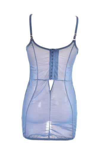 Azul para floral Slip mujer £ Rrp By Agent L'agent Bcf88 140 elástico Provocateur x0nIw8Ywq
