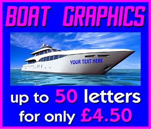Self Adhesive Vinyl Lettering - Boat Graphics - Car Graphics - Wall Graphics