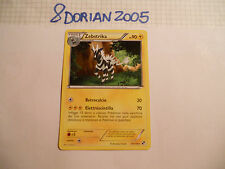 POKEMON CARDS: 1x TCG Zebstrika-Nero & Bianco-Rara-43/114-ITA Italiano x1