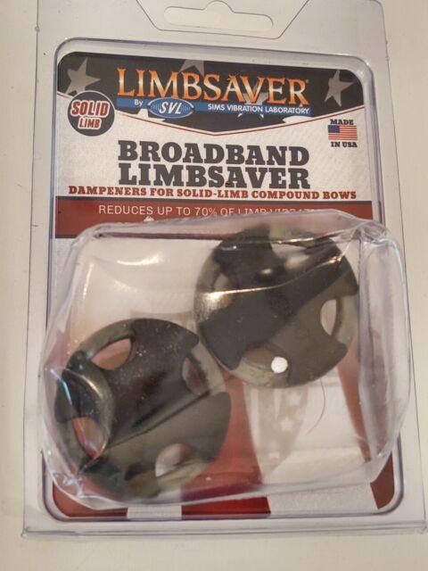 4 Stk//Packung LIMBSAVER BROADBAND RINGE Ersatzringe f/ür Limbsaver Broadband in camo