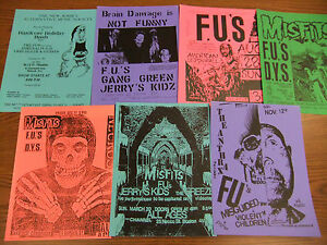The-F-U-039-s-Repo-Concert-Flyer-Lot-Septic-Death-D-Y-S-Jerry-039-s-Kids-Crib-Death