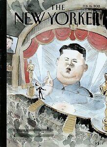 The New Yorker Feb February 2015 Kim Jong-un Interrupts Measles Holocaust More!