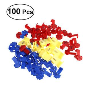 100-RACCORDS-INSTANTANES-cosse-rapide-electrique-clipsable-quick-lock