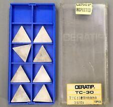8 Pieces Kyocera Ceratip Tpg 432 T00320 Ceramic Insertstpc30 Machinist