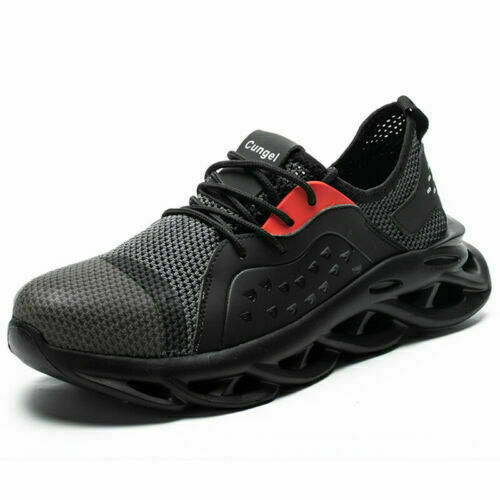 Work Boots Men/'s Safety Shoes Labor Shoes Steel Toe Cap Indestructible Sneakers