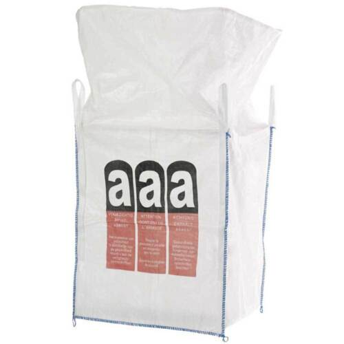 Schüttgutbehälter Entsorgungs Sack 1000-1350 kg Big Bag Flexibler Einweg
