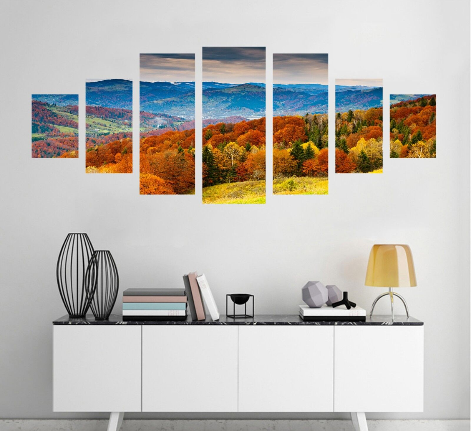 3D Autumn View 60 Unframed Print Wall Paper Decal Wall Deco Indoor AJ Wall