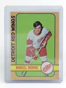 1972-73-Marcel-Dionne-8-Detroit-Red-Wings-OPC-O-Pee-Chee-Hockey-Card-I189
