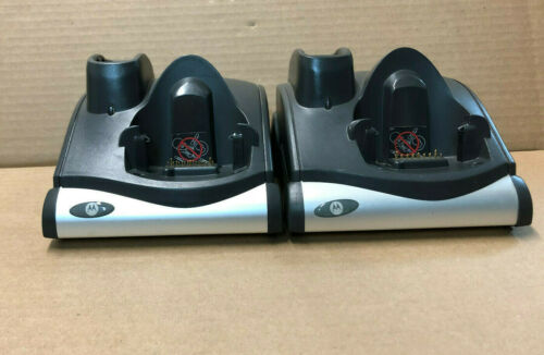 Lot of 2 Symbol CRD9000-1001SR Chargers for MC9090 MC9190
