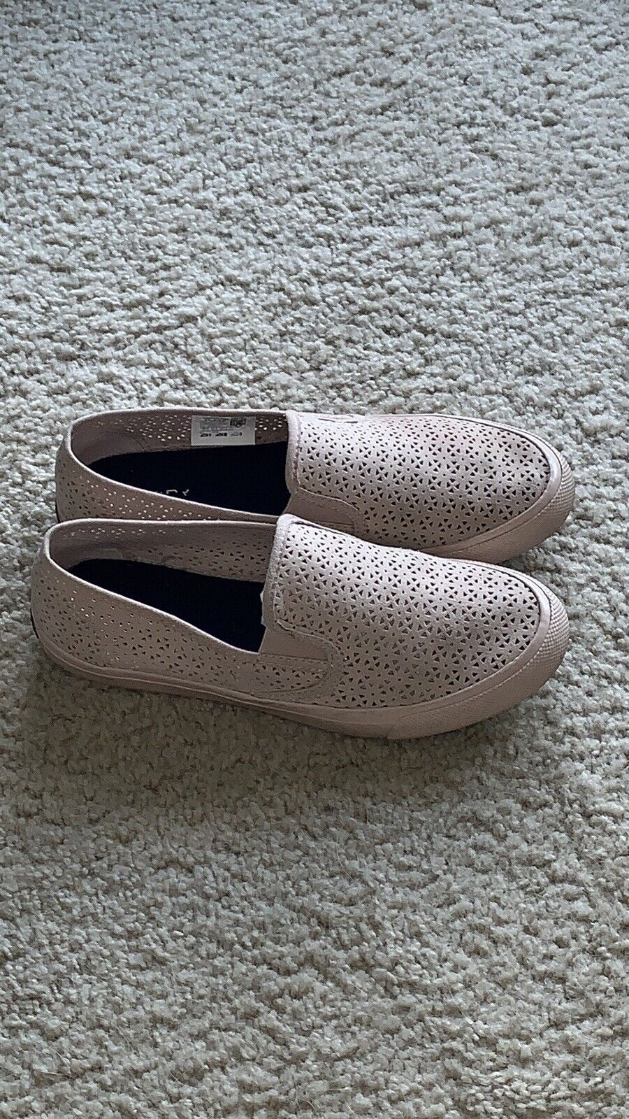 sperry boat Womens Seaside shoes suede slip on Loafer Size 10