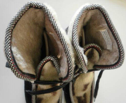 Stivaletti Stringate Vintage Italy donna da Made di Winter pelliccia True in Stivaletti Nos 7nEZH