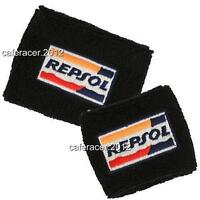 Repsol Honda Cbr Brake/clutch Reservoir Socks Fluid Tank Cover Black 1000rr 600