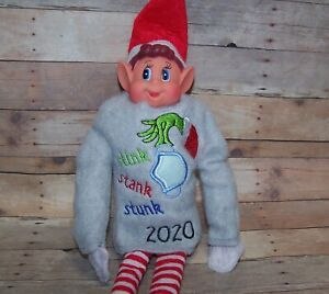 elf or fashion doll Merry elf-in Christmas Sweater