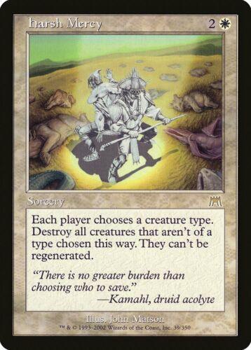 Harsh Mercy Onslaught NM-M White Rare MAGIC THE GATHERING MTG CARD ABUGames