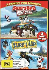Surf-039-s-Up-Surf-039-s-Up-2-Wave-Mania-DVD-NEW-Region-4-Australia
