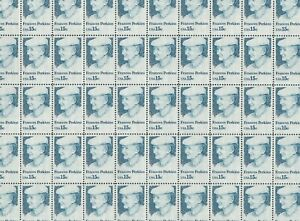 Frances Perkins Mint Sheet of 50 Stamps, Scott #1821, MNH, Free Shipping! Nice!