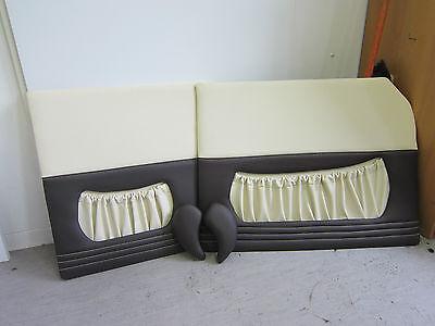 Türverkleidung Innenausstattung Türpappen Wartburg 311 mit Steppung. Ziernaht