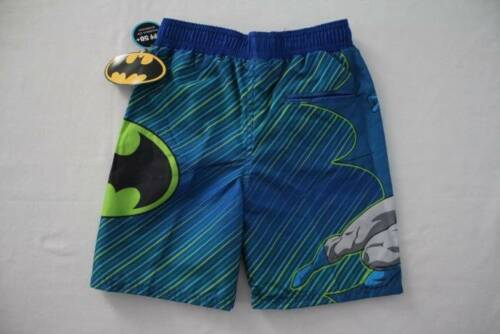 Boys Bathing Suit Swim Trunks Size 4 Shorts Batman UV 50 UPF Super Hero DC Comic