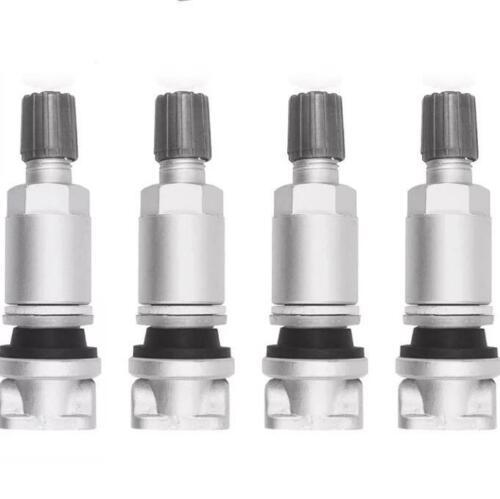 4 nuovi JAGUAR Pneumatico Pressione Sensore Valvola VDO KIT RIPARAZIONE TPMS ** 1 Anno Di Garanzia **