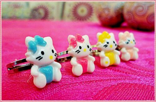 bague pour enfant bague de fille avec chat bijoux de fille réglable bague