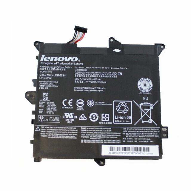 Bateria L14M2P22 Lenovo Ideapad Yoga 300-11IBY (80M0) 30Wh 4050mAh 7.4V Usada