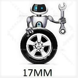 VW SEAT 4 X Rueda de Aleación Pernos De Bloqueo Negro Para AUDI M14X1.5 28MM Radio, 91