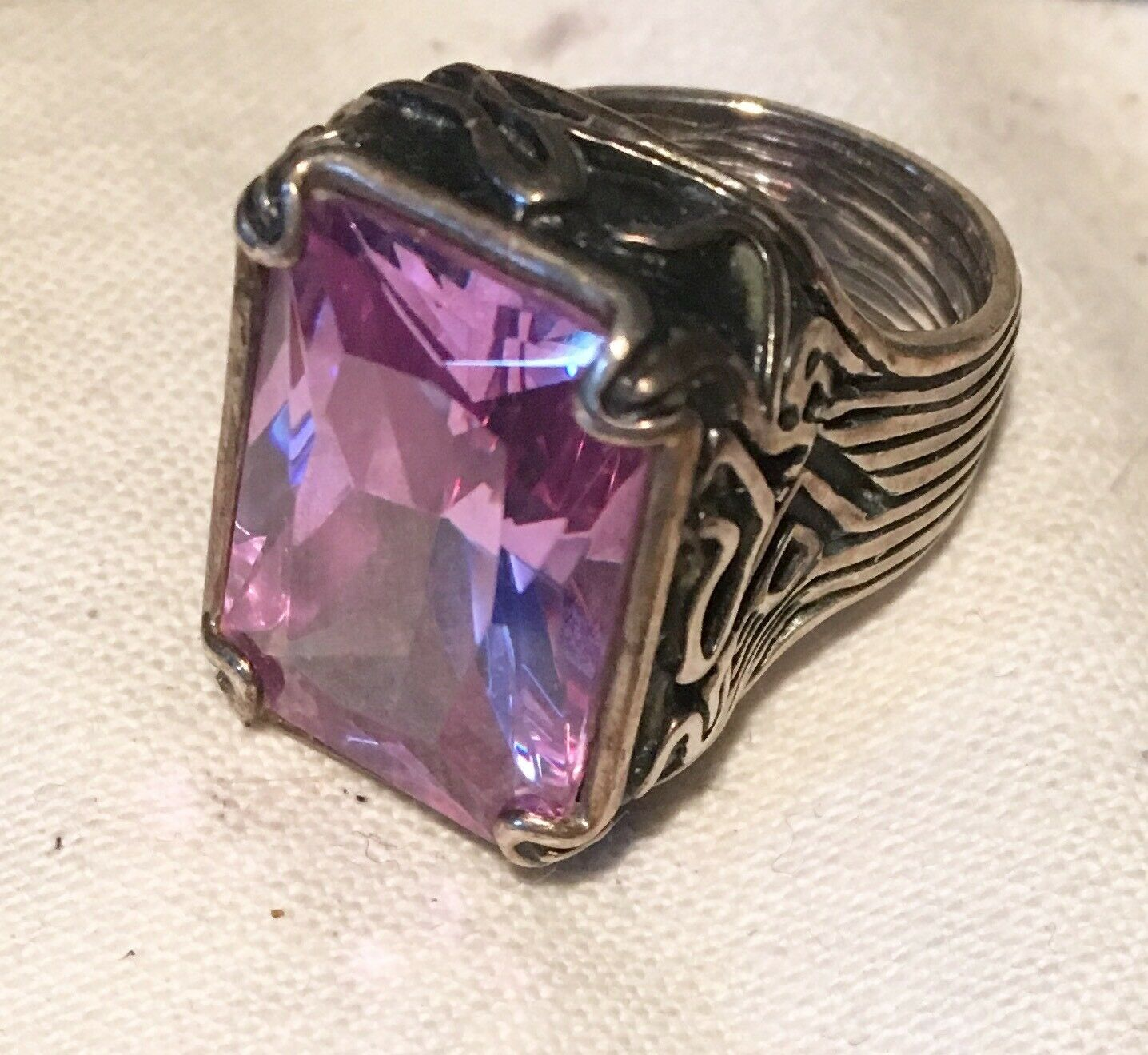Silpada Sterling Ring - Lavender Fields