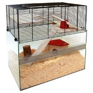 Small-Animal-Cage-Hamsters-Mice-Gerbils-Rats-Terrarium-Modern-Large-Accessories