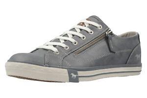 Mustang Shoes Halbschuhe 1146-302-875 Damenschuhe Übergrößen Blau