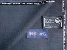 60% SUMMER KID MOHAIR & 40%SUPER 120's WOOL SUITING FABRIC MADE IN ENGLAND-5.12m
