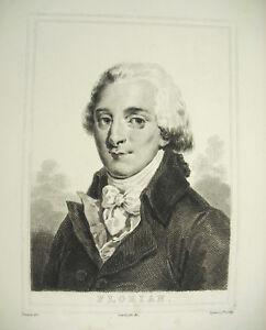 Jean-Pierre-Claris-Florian-Poet-Fabulist-Newborn-in-Rescue-Deveria-Lying-c1880