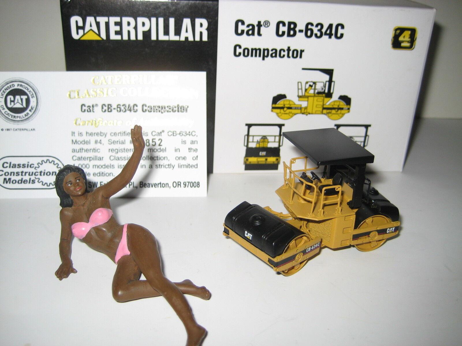 grandes ahorros Caterpillar Caterpillar Caterpillar cb-634c platina  852 ccm 1 87 OVP edición limitada  presentando toda la última moda de la calle