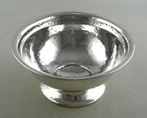 Sterling-hand-hammered-candy-nut-bowl-by-Barbour-CT