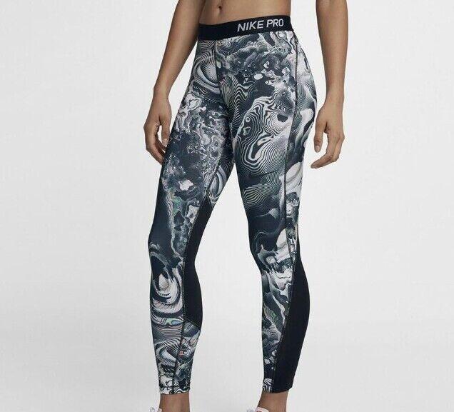 Nike Pro Print donna Collant di formazione - - - 917407 740 34a628