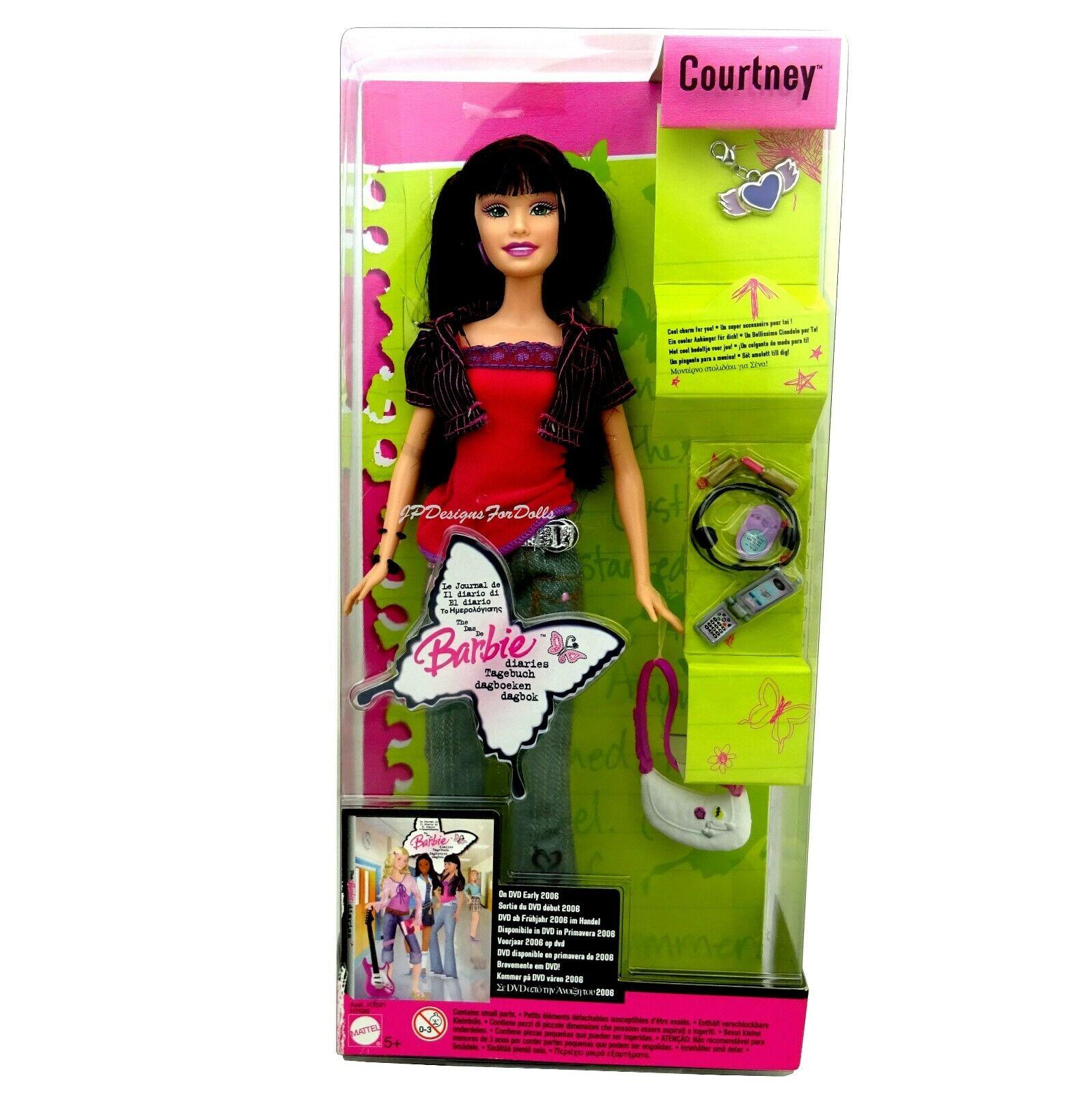 2005 Barbie Diaries Courtney Doll