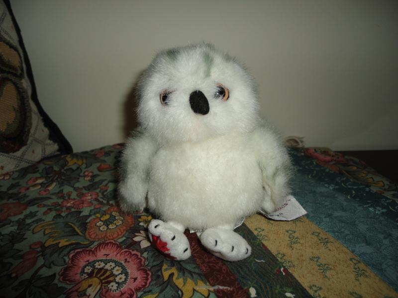 Stuffed Animal House Baby SNOWY OWL Maplefoot Babies Canada