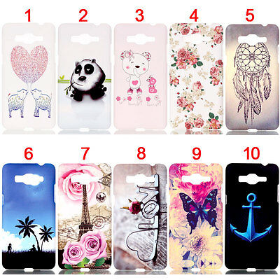 Bear Love Hard Back Skin Case Cover For Samsung Galaxy J5/C5/Note 5/G3608/G5308