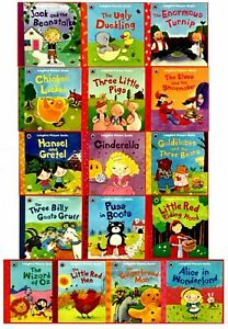 Ladybird-First-Favourite-Tales-16-Picture-Books-Collection-Set