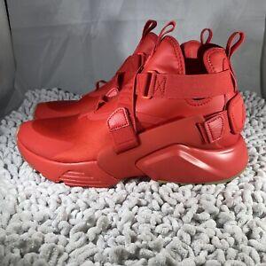 Nike Air Huarache City Speed Red Black New Women's 11.5/ Men's 10 [AH6787-600]