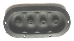 BC728-rubber-pad-ABCD-for-repair-BC-728-SCR-593-NOS-NIB-WWII